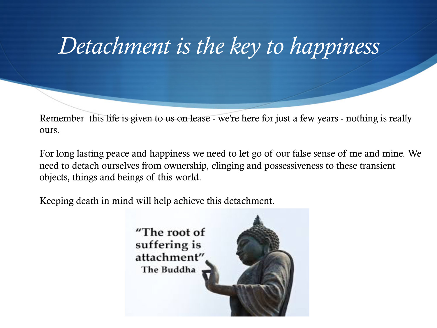 Inner Happiness through the Art of Dying-18