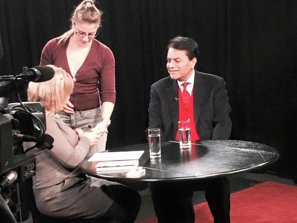 Interview on LMC-TV, New York